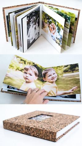 kvalitní fotokniha s tvrdými deskami