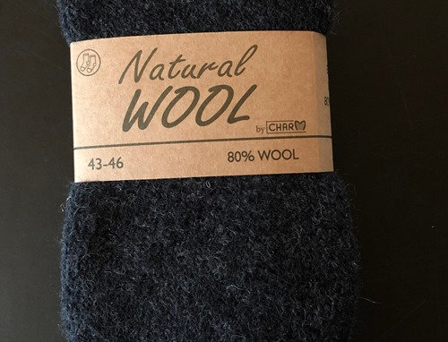 Wool socks ESKIMO 80% virgin superior wool - Charcoal