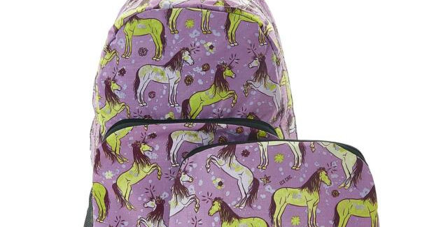 EcoChic Backpack - Unicorn Purple