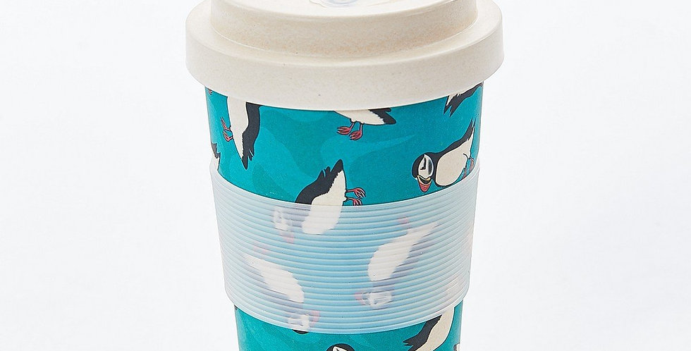 EcoChic Coffee Cup - Puffin