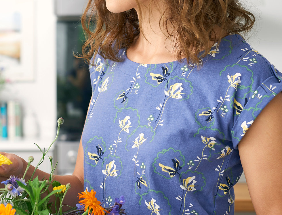 Lily and Me Surf Side Tee - Dandy Blooms