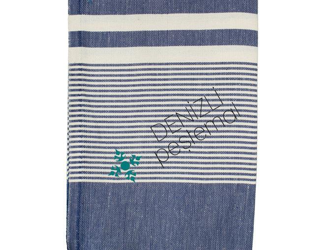 Turkish Towel - hereke navy