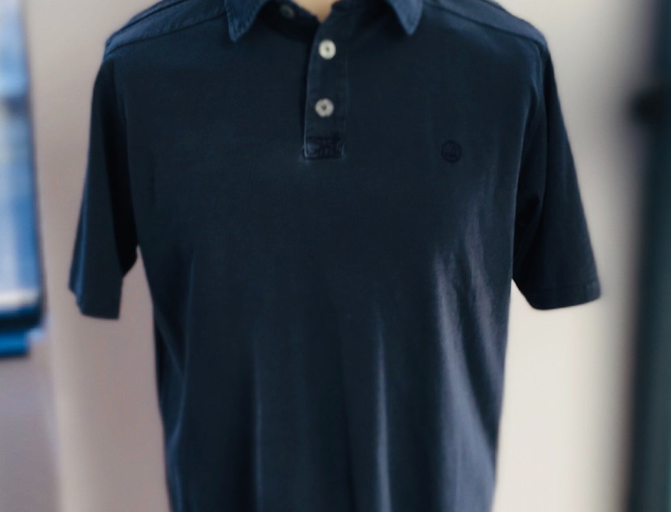 Mens Key West Sea Ranch Polo - Washed Navy