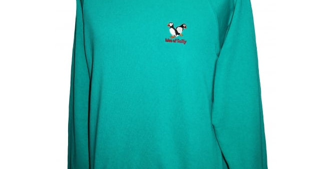 Puffin - teal