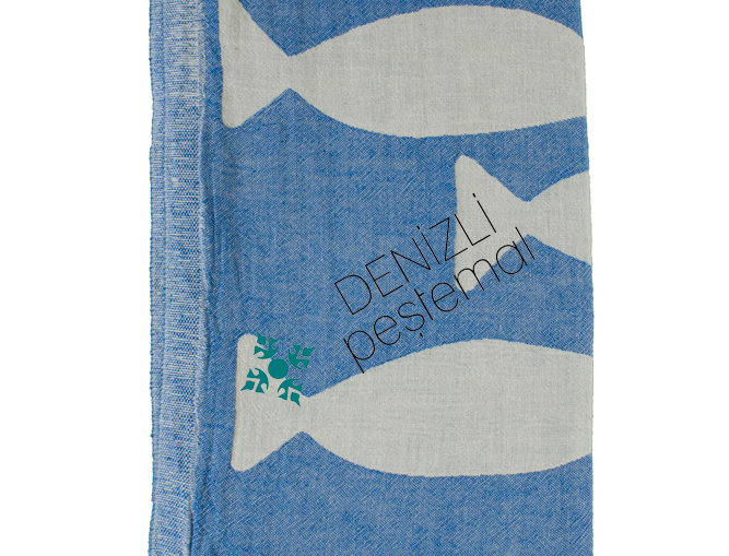 Turkish Towel - fish