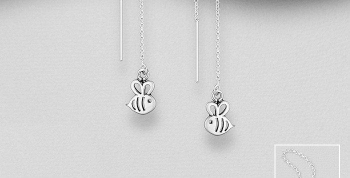 Thread Earrings - Bee