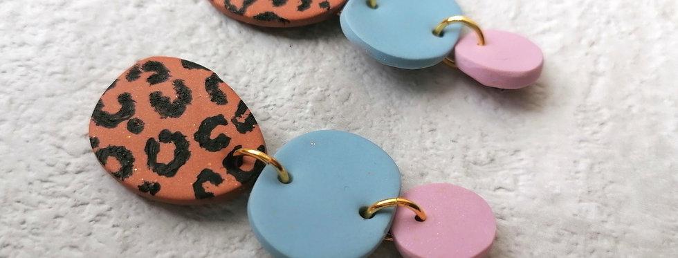 Leopard Love Dangles