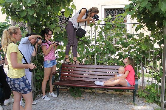 milad koutníková lektorka fotoškoda na kurzu fotografujeme děti