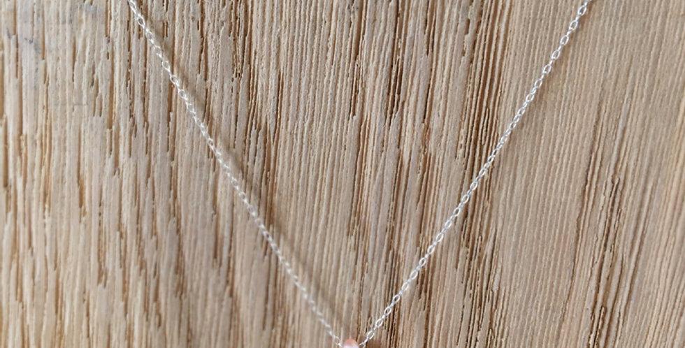 Teardrop Bead Necklace - Rosaline