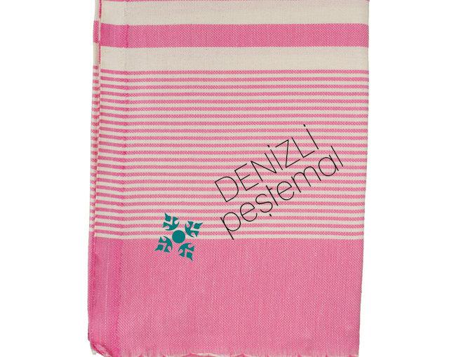 Turkish Towel - hereke pink