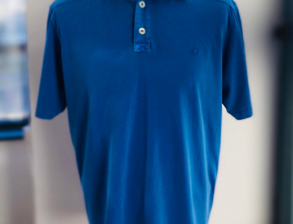 Mens Key West Sea Ranch Polo - Washed Blue
