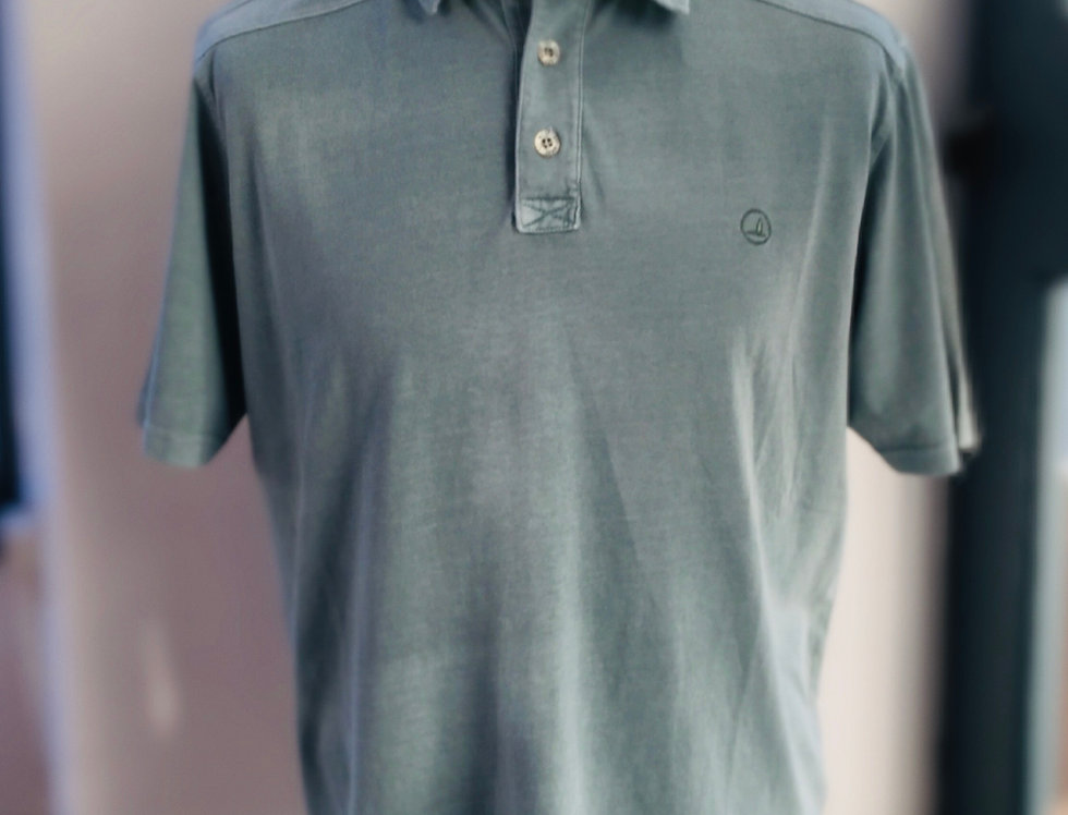 Mens Key West Sea Ranch Polo - Washed Green