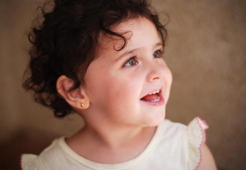 krásný portrét španělské holčičky