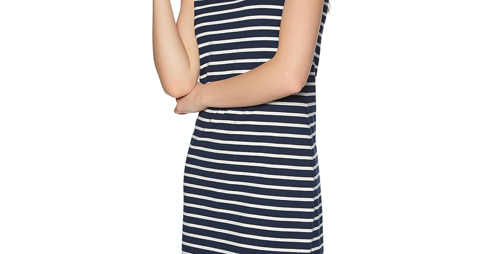 Joules Riva Dress - Navy/Cream Stripe