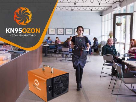 Cafe ve Restoranlar için Ozon Jeneratörü Kullanımı