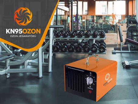 Spor Salonları için Ozon Jeneratörü Kullanımı