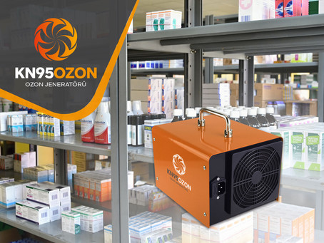 İlaç Depoları için Ozon Jeneratörü Kullanımı