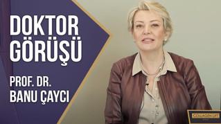 Prof. Dr. Banu Çaycı, sıvı kolajenler hakkında bilgilendirme yapıyor!