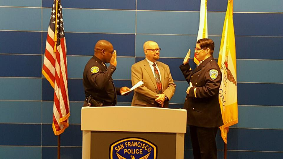 Chaplain Rohrer Sworn In