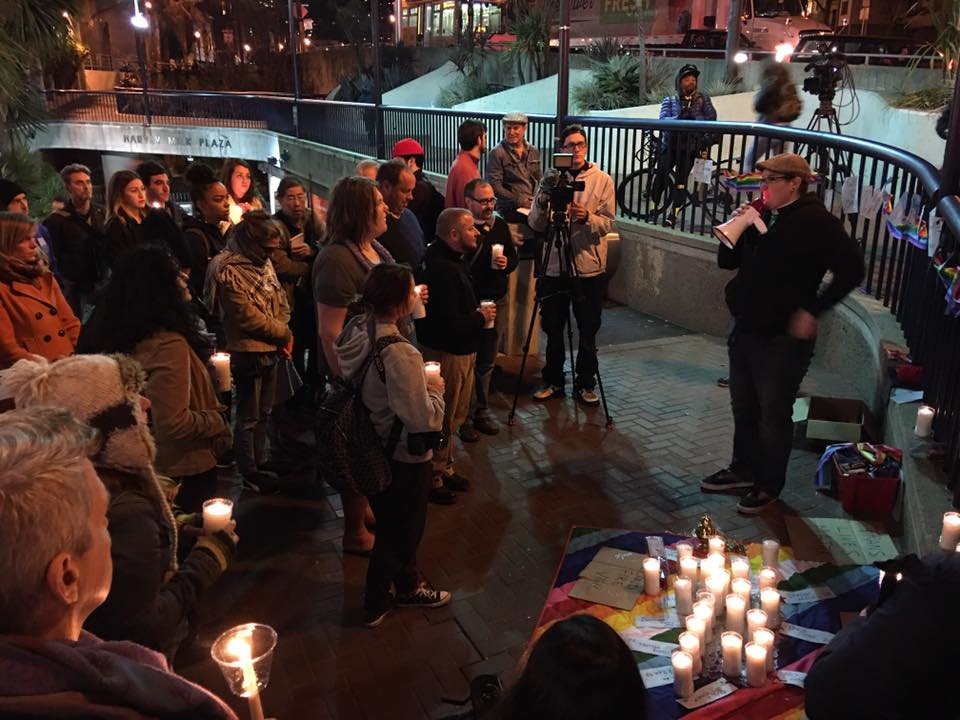 Vigil for the Ghostship Fire