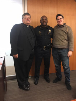 2 Chaplains with Chief Chaplain