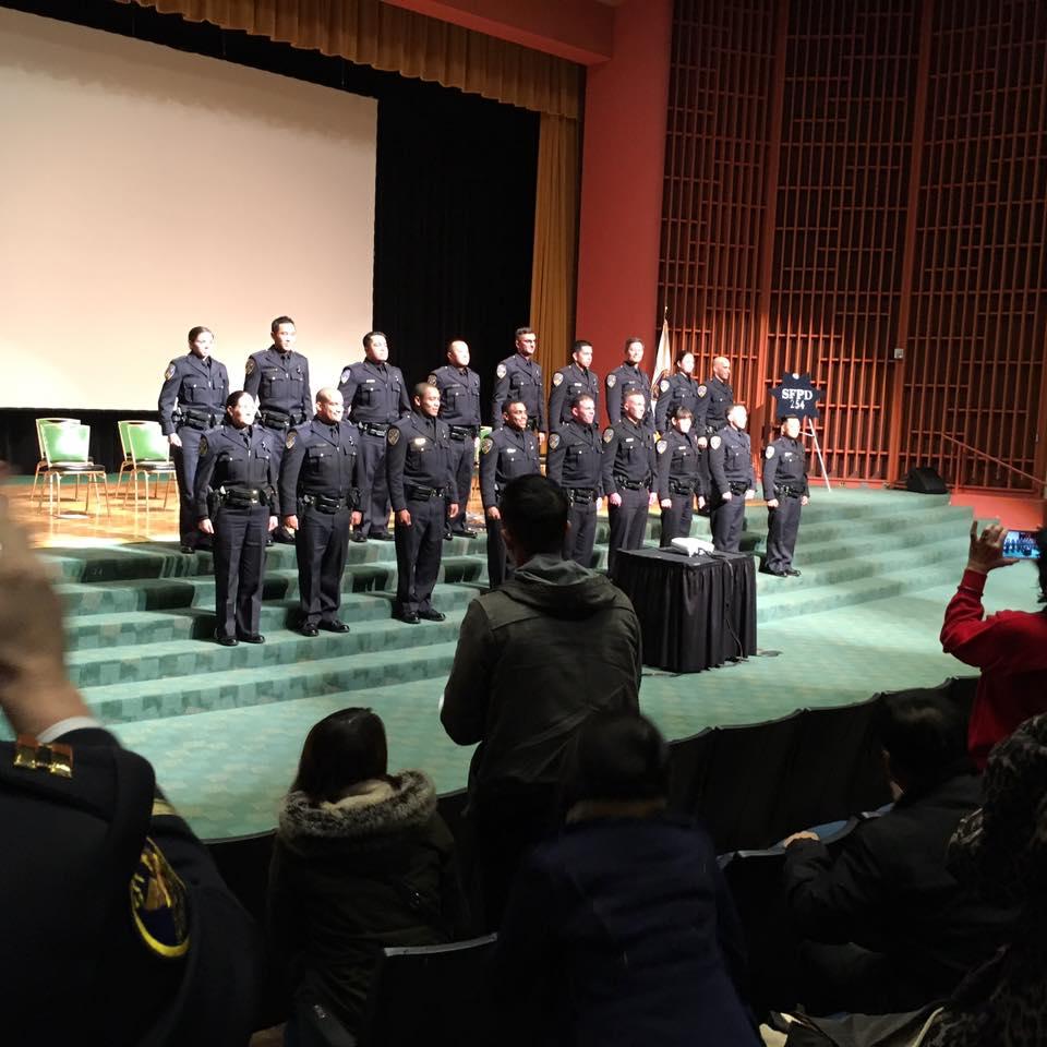 SFPD Graduation