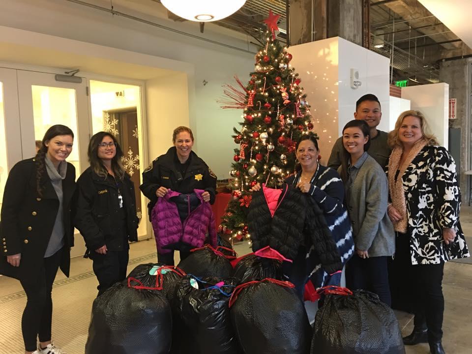 Kmart donates jackets