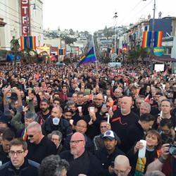 Vigil for Shootings in Orlando