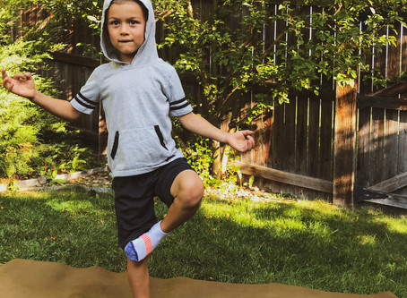 Kids Yoga - a tool to help with Back to School