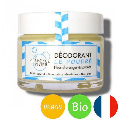 Déodorant naturel Le poudré - Clémence & Vivien
