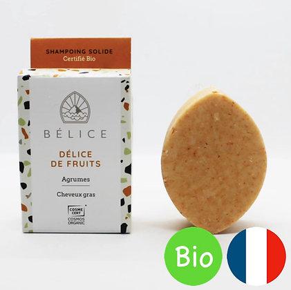 Shampoing solide Bio Délice de Fruit - Bélice
