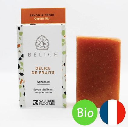 Savon Bio Délice de Fruit - Bélice
