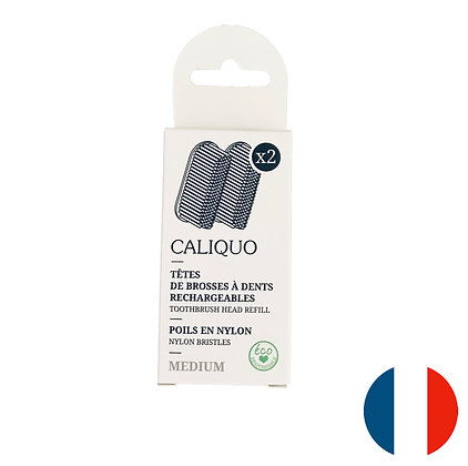 Recharges pour brosses à dents Caliquo