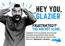 Copy of Hey You Glazier b&w 5x7 PRINT no