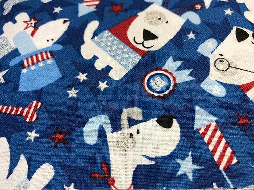 Patriotic Pups (blue)