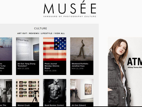 Project Pylons Feature on Musee magazine