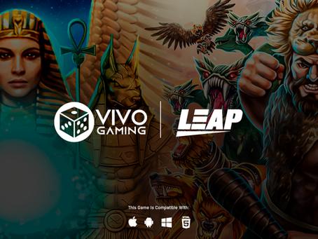 Vivo Gaming teams up with Leap Gaming