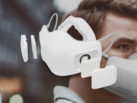 Is your mask smart? LG's breathable mask is here to brag.