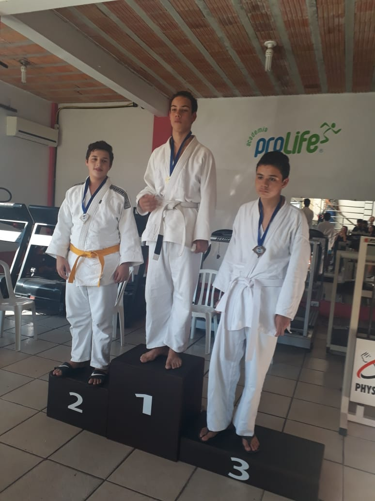 Guilherme Borba  medalha de Prata 19.05.