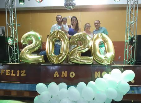 Ano Novo é recebido com Ceia de Réveillon na Colônia da Avenida da Igreja, em Tramandaí