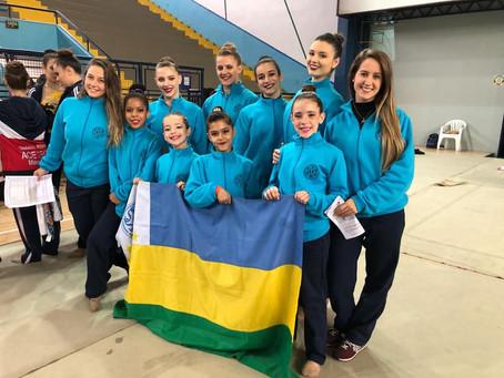 Atletas geraldinas participam da 1ª Etapa do Torneio Estadual de Ginástica Rítmica
