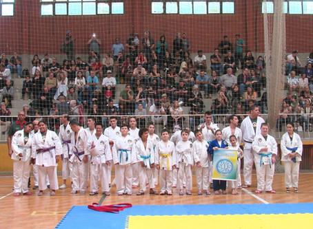 Geraldo Santana representado na ll Copa Judoquinhas de Judô