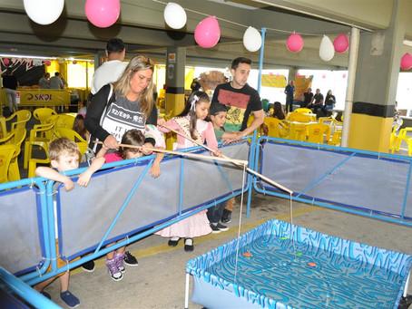 Festa para as crianças anima sábado de outubro no Geraldo