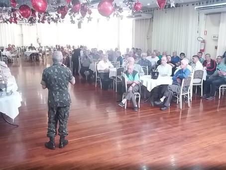 Comandante Militar do Sul prestigia Almoço da RR de outubro