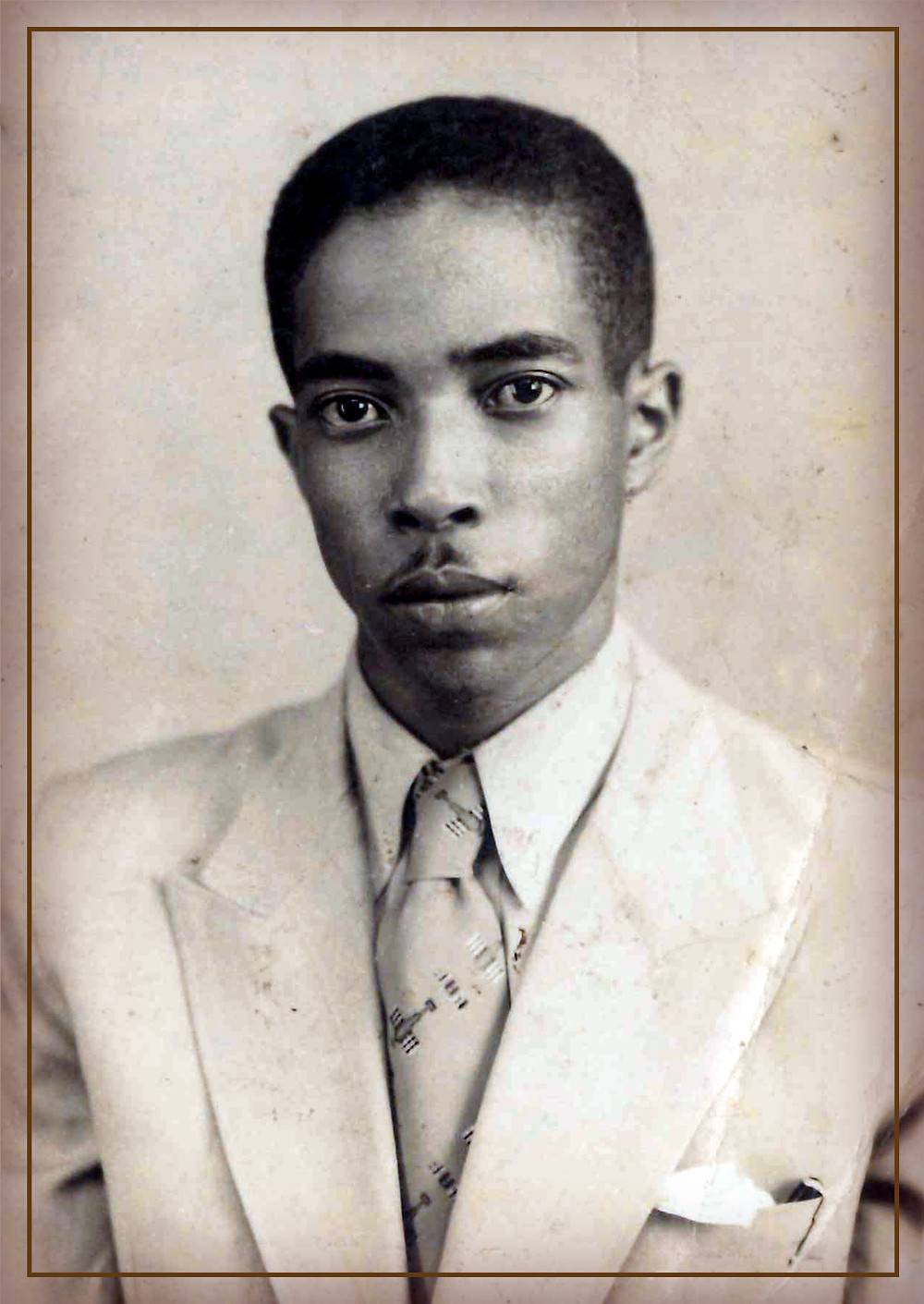 Geraldo Santana, o Patrono.