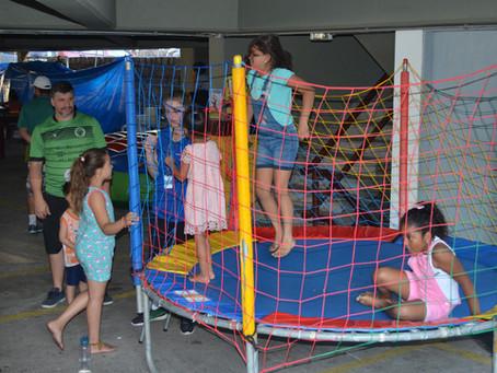 Festa das Crianças movimenta tarde de sábado no Geraldo
