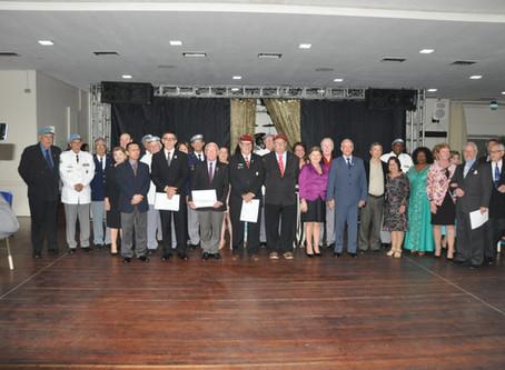 Boinas Azuis recebem o carinho da família geraldina na Sexta Nobre de novembro