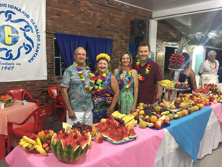 Festa do Havaí é organizada com apoio dos veranistas de Tapes