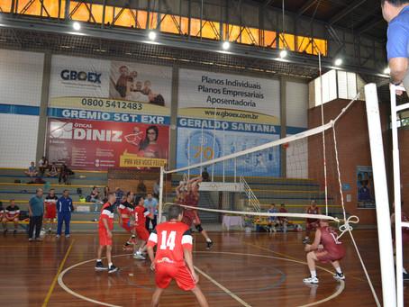 Ginásio é palco de disputa entre equipes das Forças Armadas