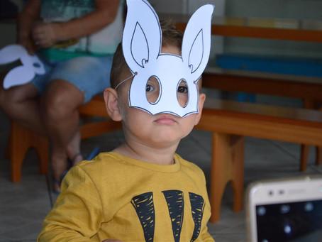 Filhos de associados participam de Caça ao Ninho na Páscoa